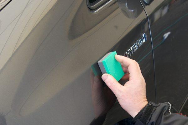 手洗い洗車 ディラーコーティングのメンテナンス